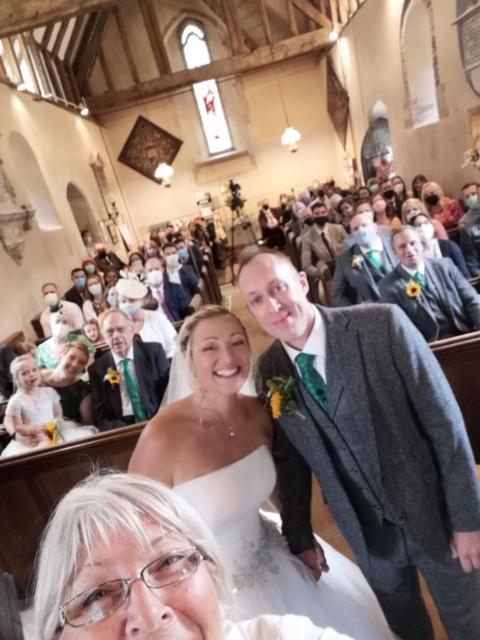 Jo and David Wedding