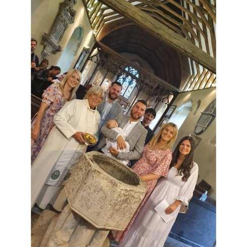 Noa's christening